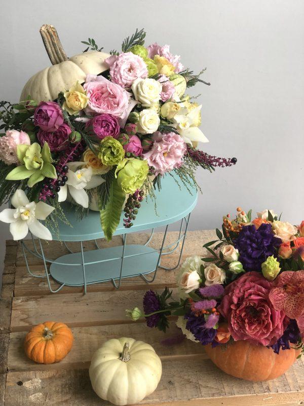 Цветочная тыква